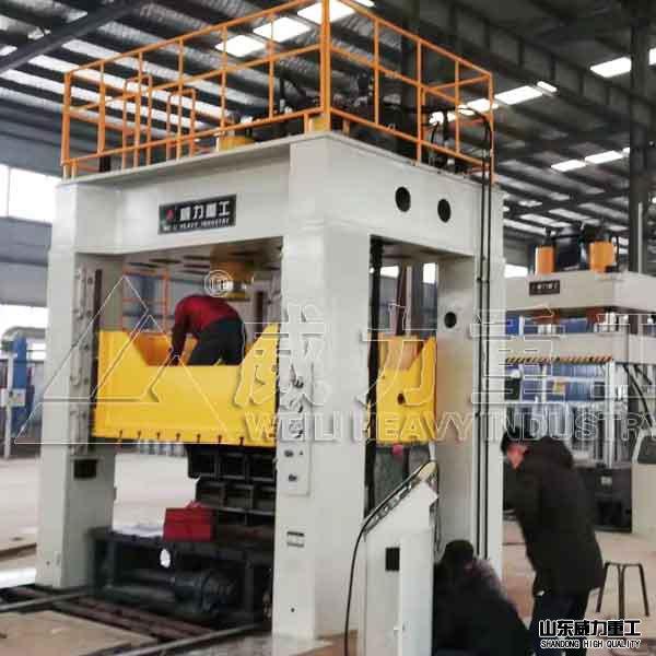 1000吨框架式快速薄板冲压液压机