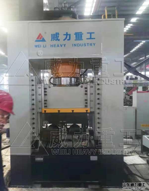 框架式500吨快速红冲床热模锻液压机