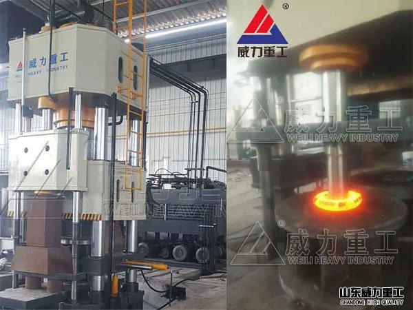 1000吨热锻液压机
